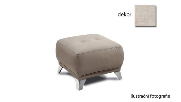 Dunja - taburet (carezza - beige B131, sk. AS)