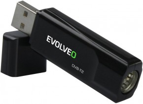 DVB-T2 Tuner EVOLVEO Sigma TV, HD DVB-T2, USB Tuner POUŽITÉ, NEOP