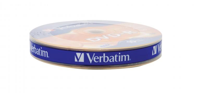 DVD DVD-R Verbatim 43729, 4,7GB, 16x, 10ks