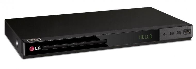 DVD přehrávač LG DP542H