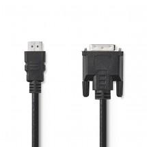 DVI/HDMI kabel Valueline 1,5m OBAL POŠKOZEN