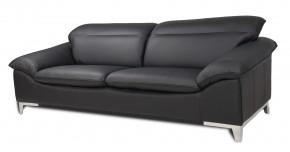 Dvojsedák Teresa (yak black M6900, kůže)