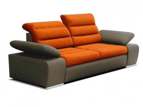 Dvojsedáky Dvojsedák Korfu oranžová, hnědá