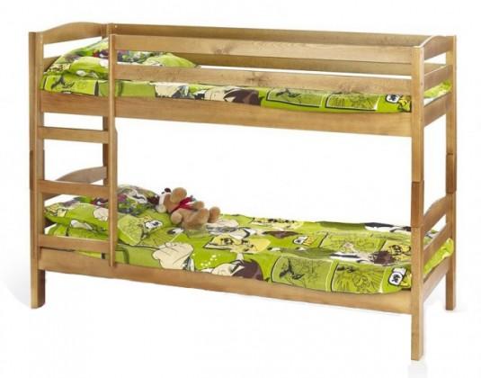 Dvoupatrová postel Patrová postel Sam (borovice)