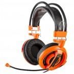 E-Blue Cobra I,herní sluchátka s mikrofonem,oranžová (EHS013OG)