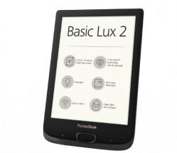 E-book POCKETBOOK 616 Basic Lux 2, Obsidian Black + ZDARMA pouzdro v hodnotě 399 Kč