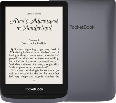E-book POCKETBOOK 632 Touch HD 3, Metallic Grey, 16GB