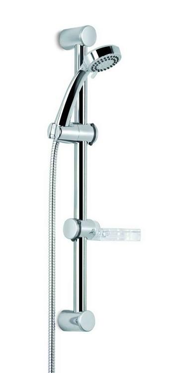 Easy 051k  Posuvný držák sprch.růžice (chrom)