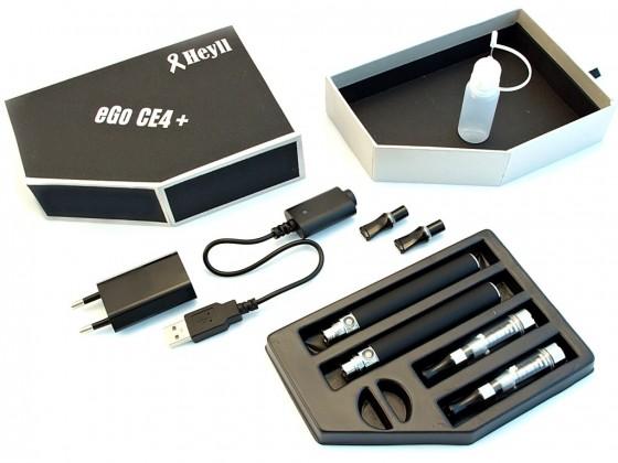 El. cigareta EGO-K, Clearomizer CE4+, starter kit, 650mah, HEYLL