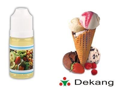 El. cigareta liquid, 10ml, 12mg, Zmrzlina (Ice Cream), DEKANG