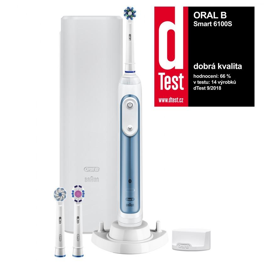 Elektrické kartáčky Elektrický zubní kartáček Oral-B Smart 6 6100S