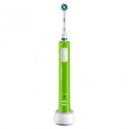 Elektrické kartáčky Oral-B Pro 400 Zelený