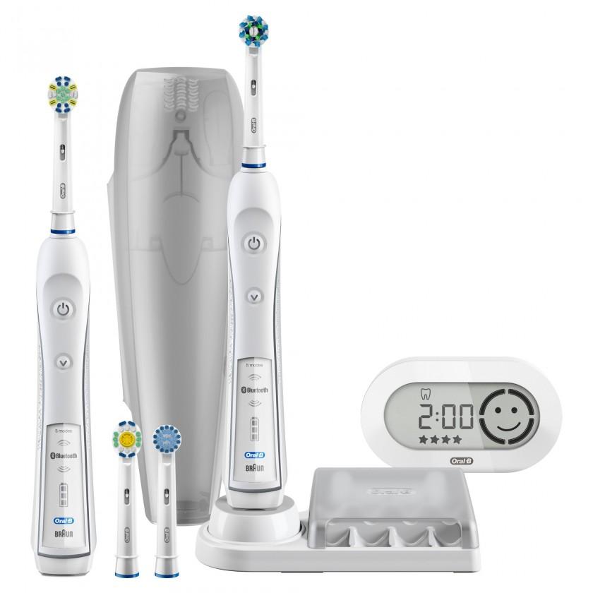 Elektrické kartáčky Oral B Pro 6900 Bílý