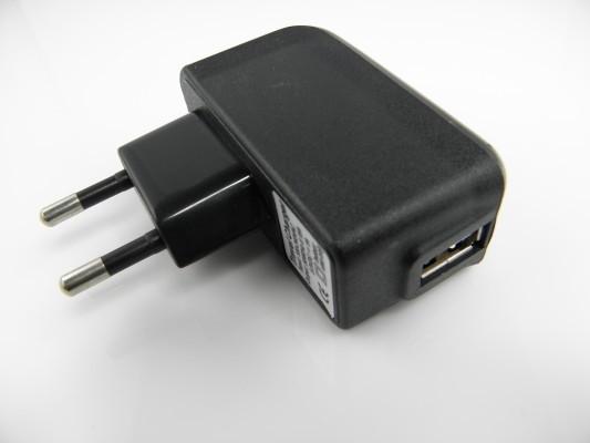 ELEKTRO Síťová nabíječka USB 1000mAh
