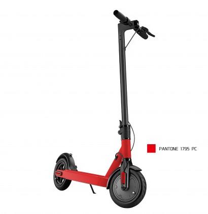 """Elektrokoloběžka eSkoter, 25km/h, až 25km, 8,5"""" pneu, červená"""