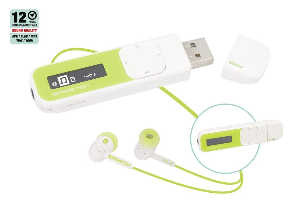 Emgeton CULT X6 4GB white/green