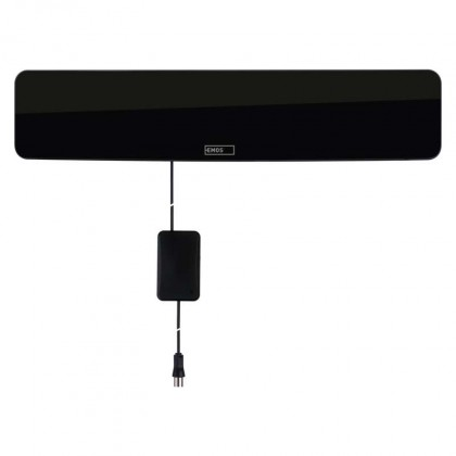 EMOS EM-HDC3 TV anténa 0-25 km aktivní pokojová