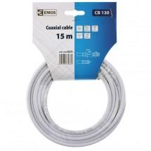 Emos kabel koaxiální CB130, 15m S5375