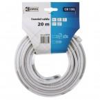 Emos kabel koaxiální CB130, 20M S5376