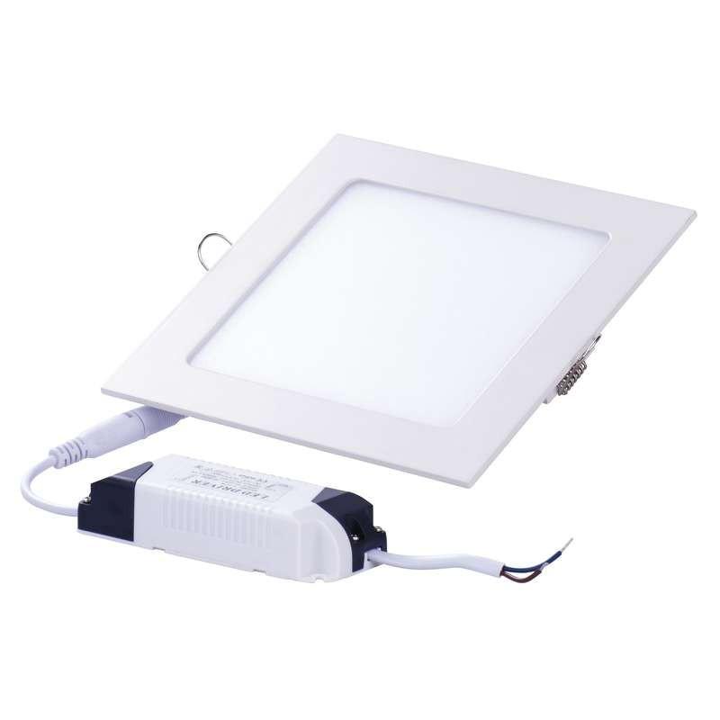 Emos LED vestavné svítidlo čtverec 12W, IP20, studená bílá 154021