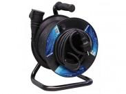 Emos P08150, gumový prodlužovací kabel na bubnu, spojka 50m