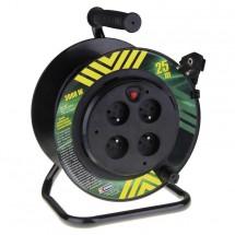 Emos P19425P,PVC prodluž. kabel na bubnu,4 zás. 25m pevný střed