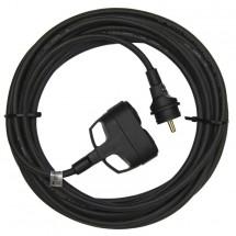 Emos PM0603 1f prodlužovací kabel 20m 3x1,5mm 2 zásuvky