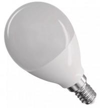 Emos ZQ1231 LED žárovka Classic Mini Globe 8W E14 neutrální bílá