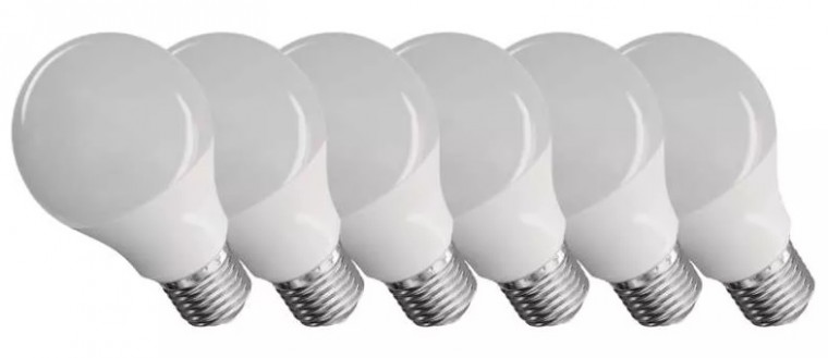 Emos ZQ51406 LED žárovka Classic A60 9W E27 teplá bílá, 6 ks