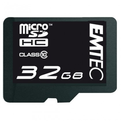 EMTEC micro SDHC 32GB (Class 10)