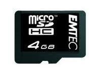 EMTEC micro SDHC 4GB (Class 4)