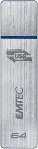 Emtec S550 64GB stříbrný-modrý