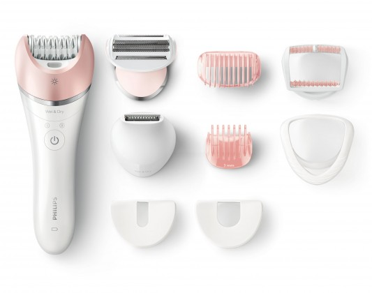 Epilátor, depilátor Epilátor Philips Satinelle Advanced BRE640/00, Wet & Dry