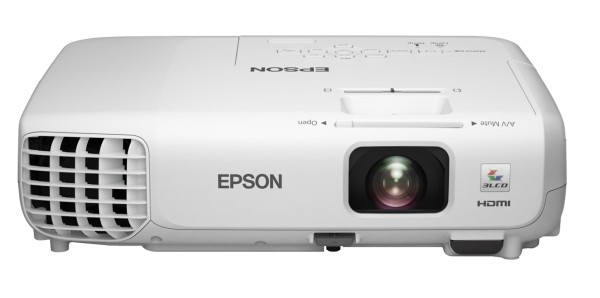 EPSON projektor EB-S18, 3LCD/800x600/3000ANSI/10.000:1 ROZBALENO