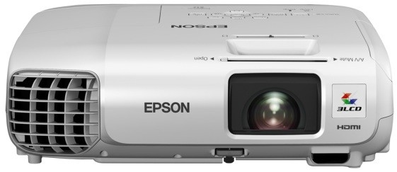 EPSON projektor EB-W22, 3LCD/1280x800/3000ANSI/10.000:1/HDMI/LAN