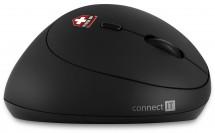 Ergonomická myš Connect IT CMO-2600-BK