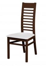 Eryka - jídelní židle (dřevo - wenge/potah - syntetická kůže)