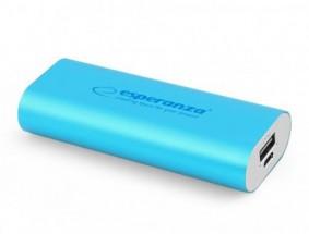 Esperanza EMP105B HADRON externí baterie 4400mAh, modrá