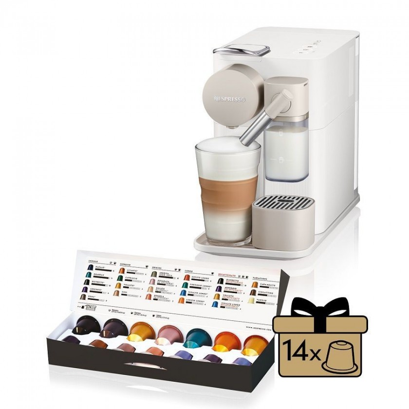 Espresso na kapsle Kapslový kávovar De Longhi EN500.W