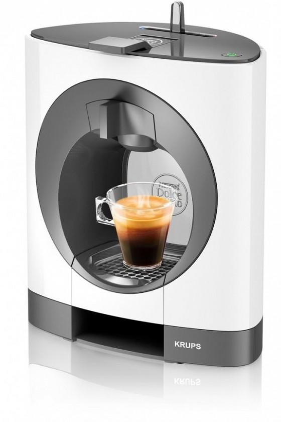 Espresso na kapsle Kapslový kávovar Krups KP110131 Nescafé Dolce Gusto Oblo