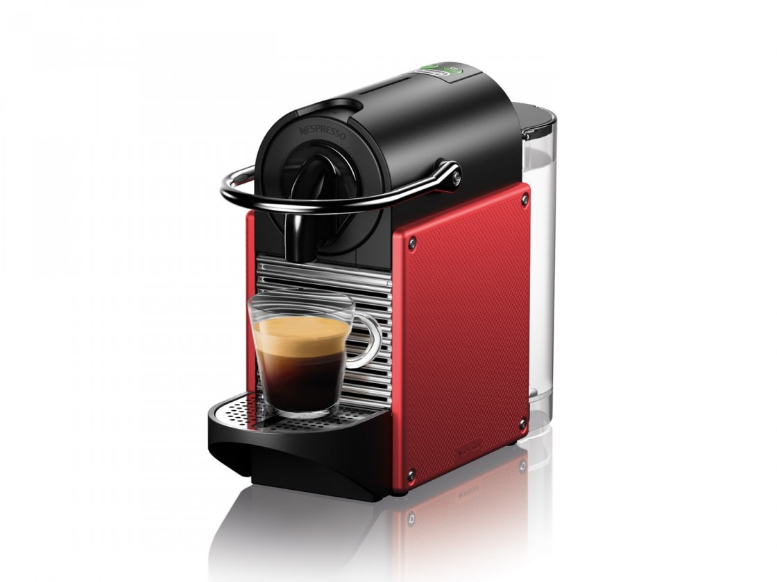 Espresso na kapsle Kapslový kávovar Nespresso De'Longhi EN124.R