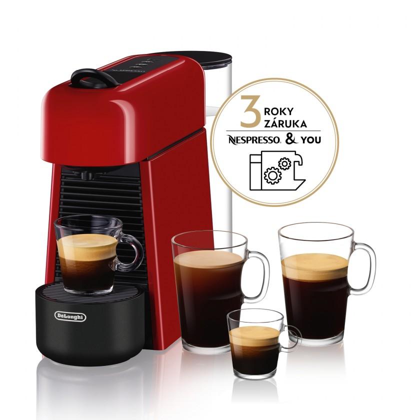 Espresso na kapsle Kapslový kávovar Nespresso De'Longhi EN200.R