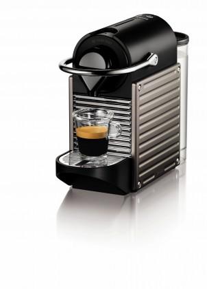 Espresso na kapsle Kapslový kávovar Nespresso Krups Pixie Titan XN304T10