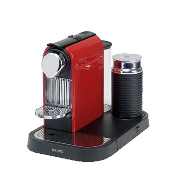 Espresso na kapsle Krups Citiz & Milk Red XN 7305