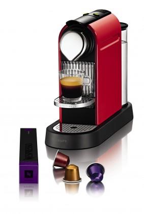 Espresso na kapsle Krups Citiz Red XN 7205