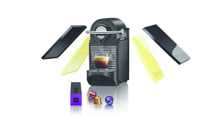 Espresso na kapsle Krups Pixie Clips XN 302010