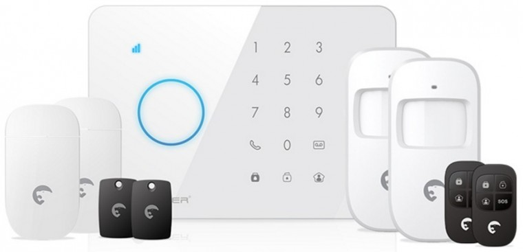 eTiger S3b Sim SECUAL Bezdrátový bezpečnostní systém s GSM
