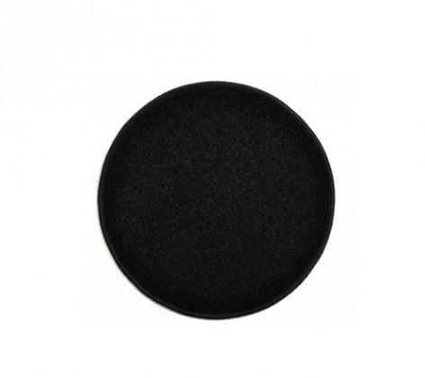 Eton - koberec, 80x80cm (100%PP, kulatý, černá)