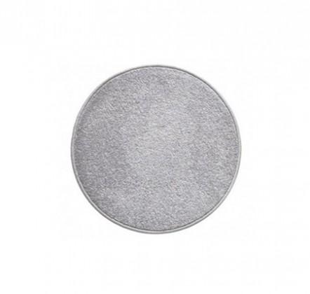 Eton - koberec, 80x80cm (100%PP, kulatý, šedá)