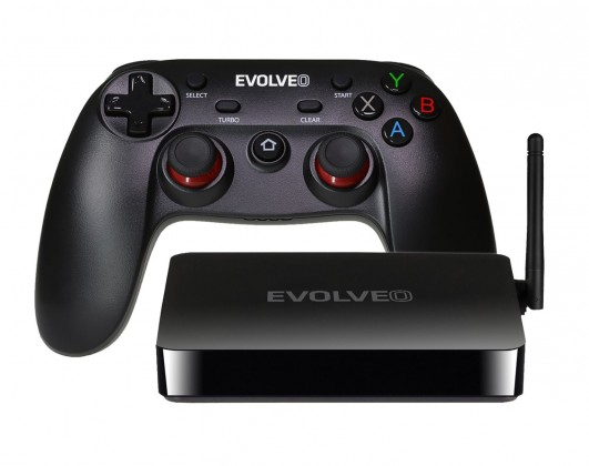 EVOLVEO Android Box H4 Plus, 4K multimediální herní centrum
